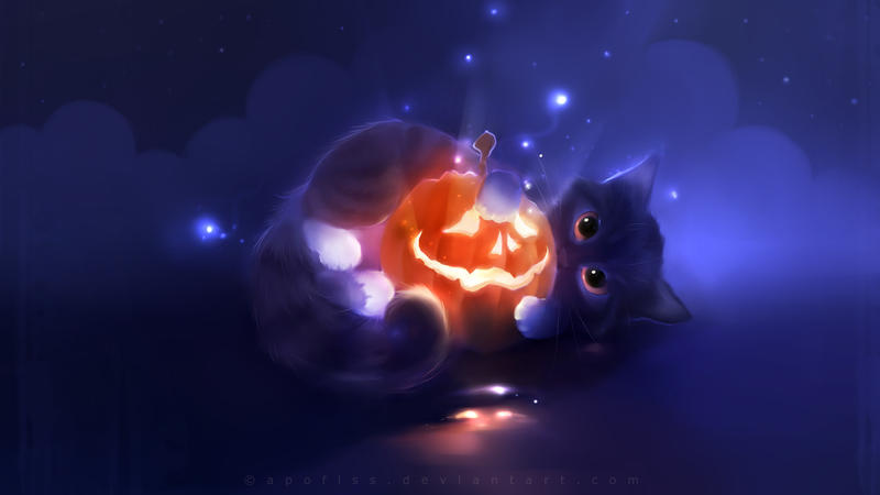 pumpkin paper by Apofiss