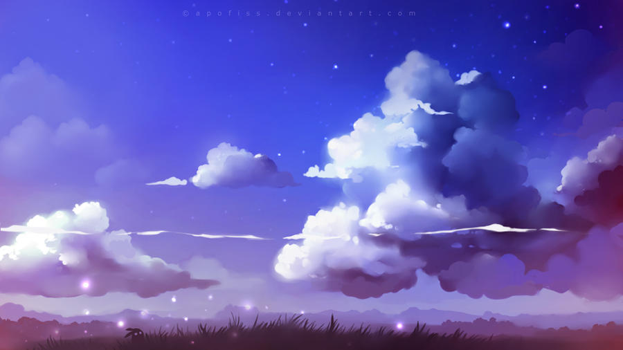 Cloudscape By Apofiss On Deviantart