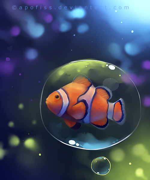 clown fish by Apofiss