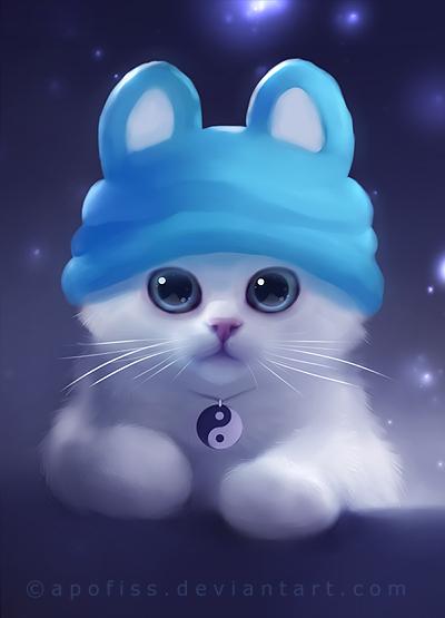 Новые рисунки котов и других домашних животных