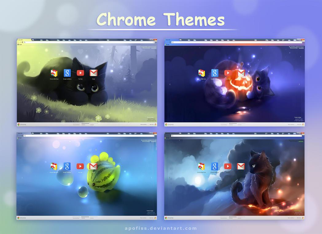 Google chrome themes gallery 2012 - Chrome Themes By Apofiss