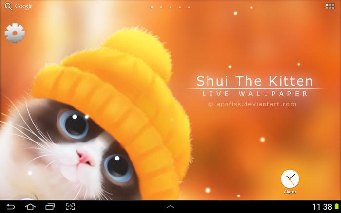 Shui The Kitten LWP by Apofiss