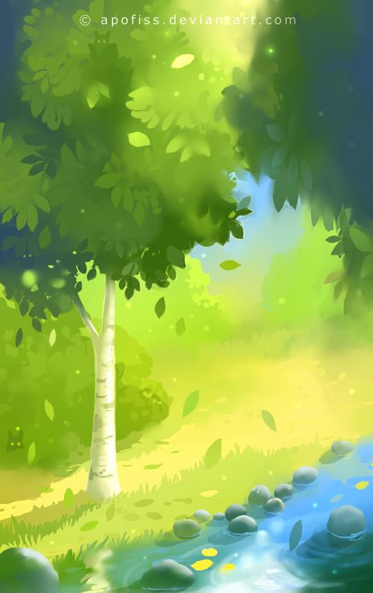near swamp by Apofiss on DeviantArt