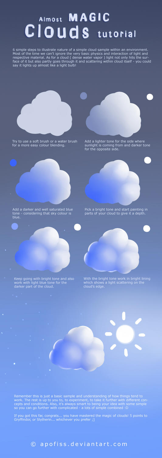 Almost Magic Clouds tutorial ( video! ) by Apofiss