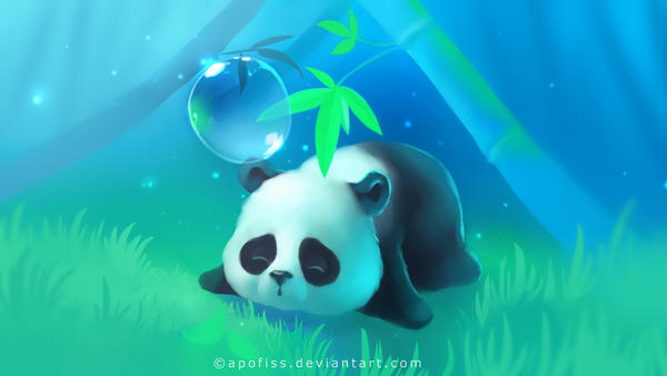 bamboo panda paper