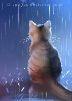 under rainy days like these