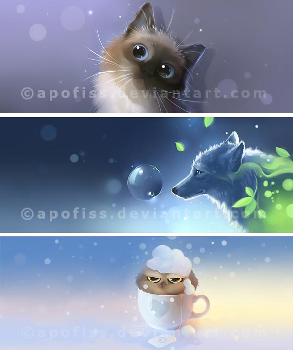 Season End mugset by Apofiss