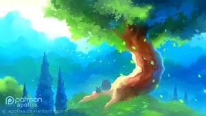 curious adventure VI by Apofiss
