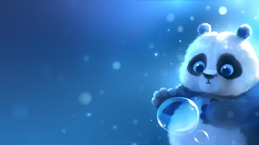 panda wallpaper by apofiss on deviantart