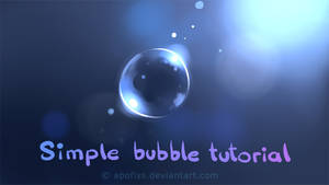 simple bubble tutorial