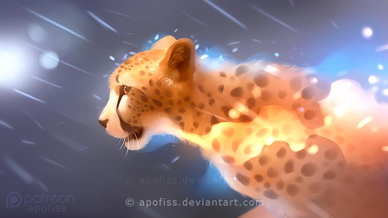 wild fire by Apofiss