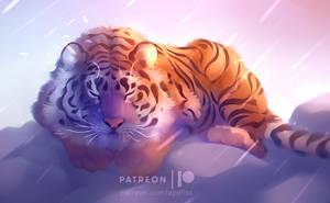 sleepy beauty by Apofiss