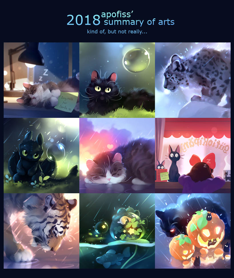 2018 art summary! by Apofiss