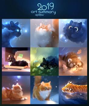 2019 art summary!