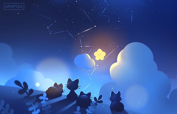 Midnight camp ( live wallpaper )