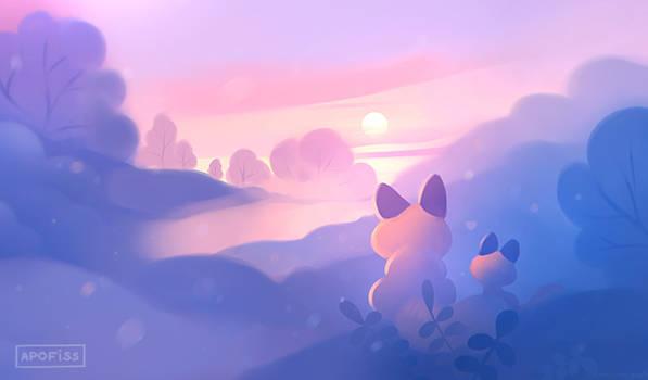 frosty stroll