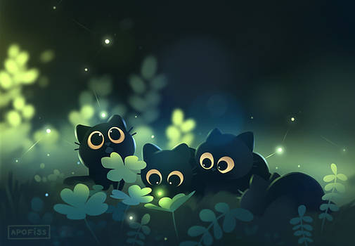 finding fireflies