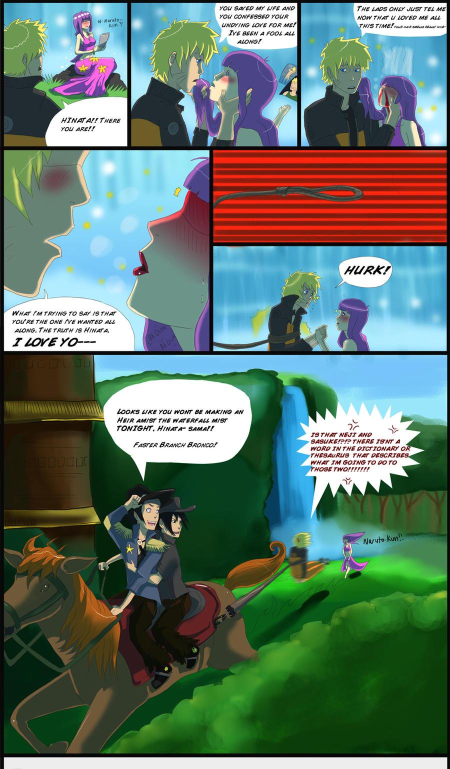Sasukes punishment: Neji pt 6 by The-third-eskimo