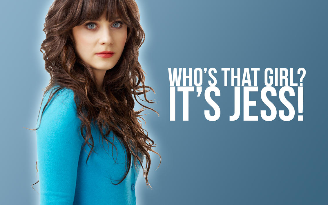It's Jess. New Girl Wallpaper by EpicActress
