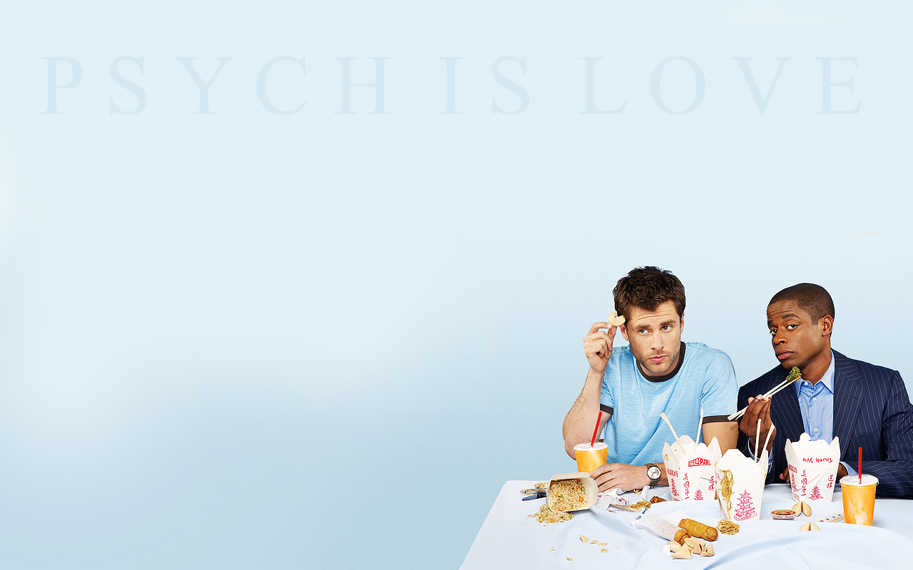 Psych Widescreen Wallpaper by EpicActress