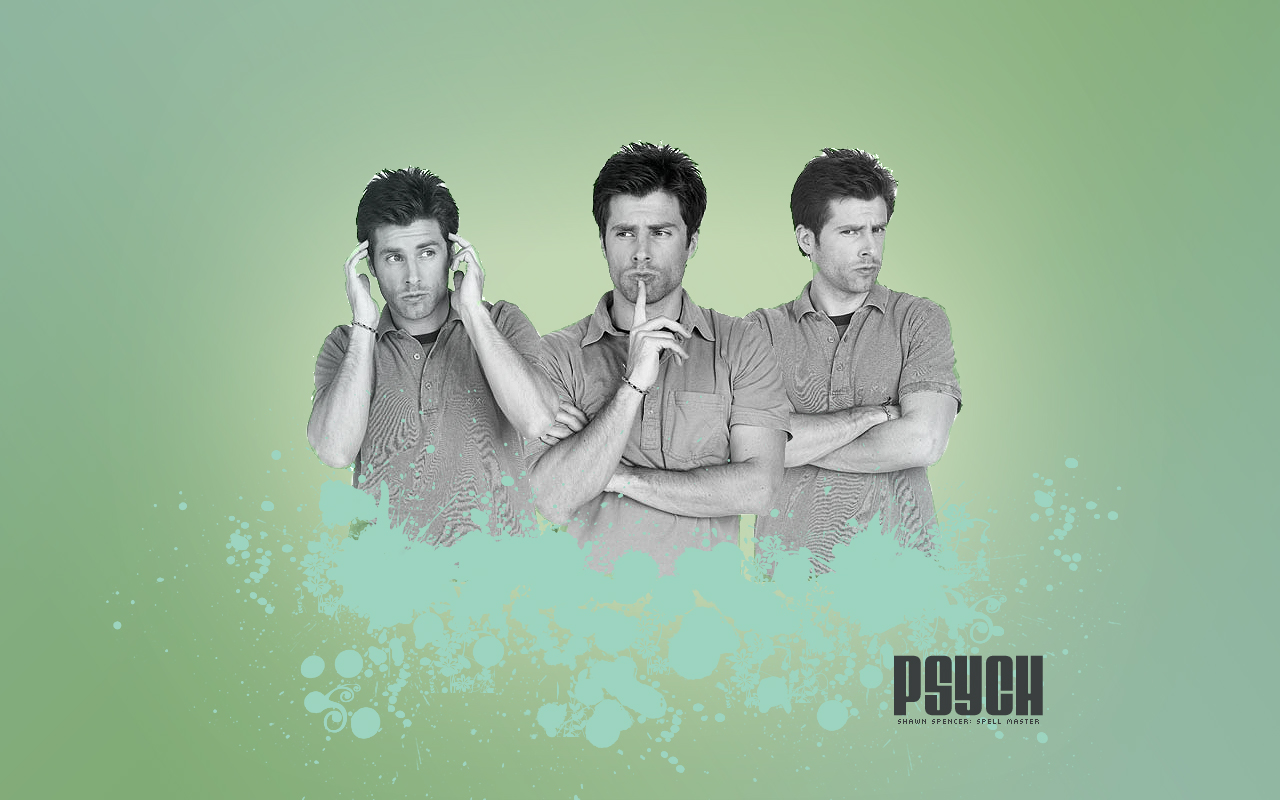 Psych Widescreen Wallpaper II by EpicActress