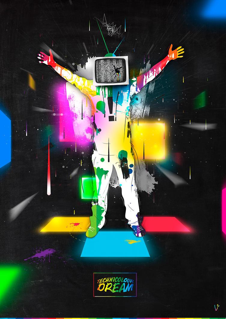 Technicolour Dream by benhewittcreative