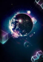 From Atom to Galaxy by benhewittcreative