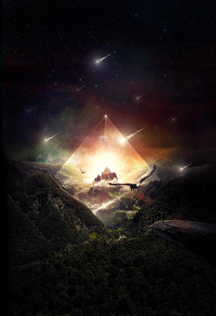 The Glass Mountain by benhewittcreative