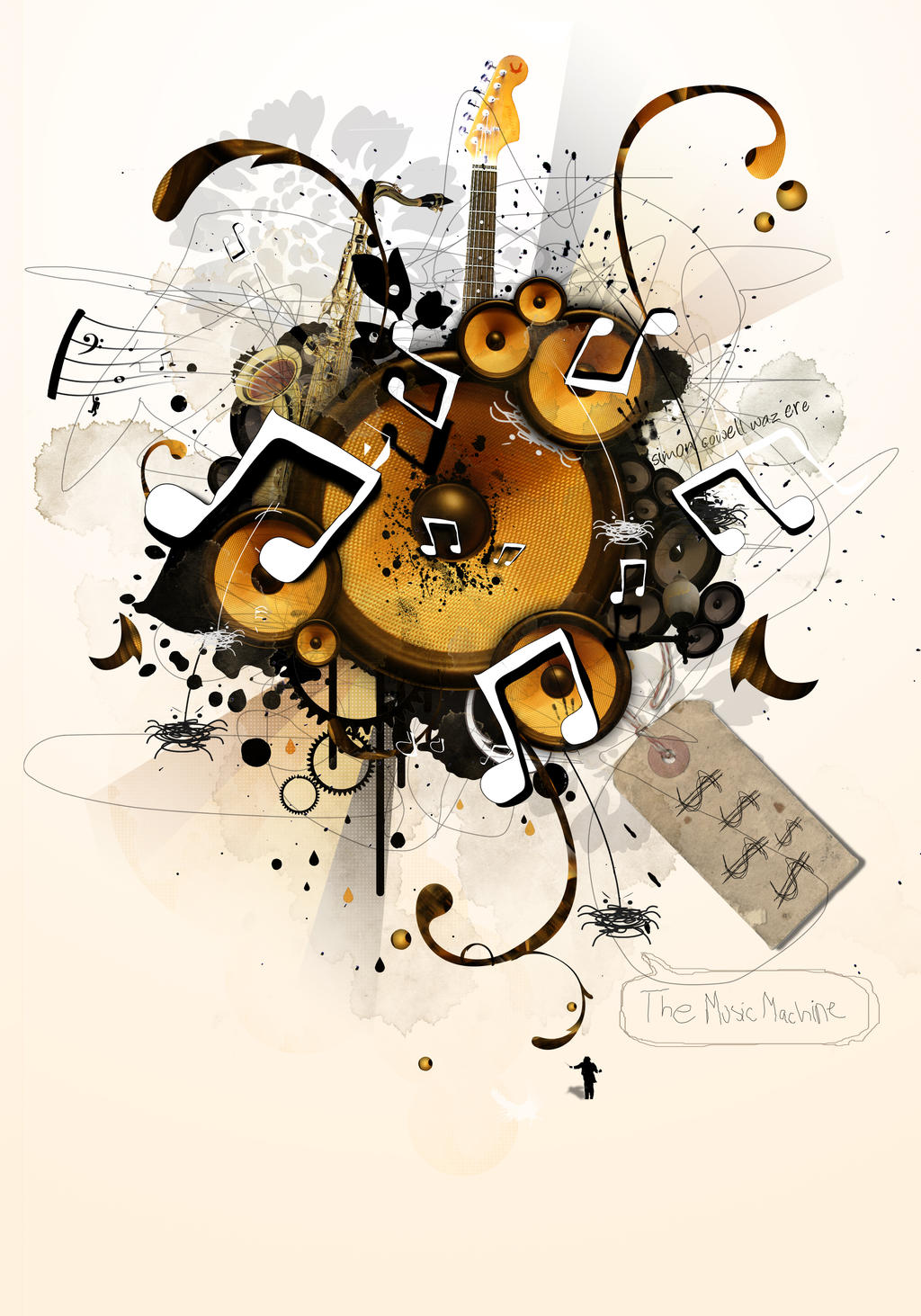 The Music Machine by benhewittcreative