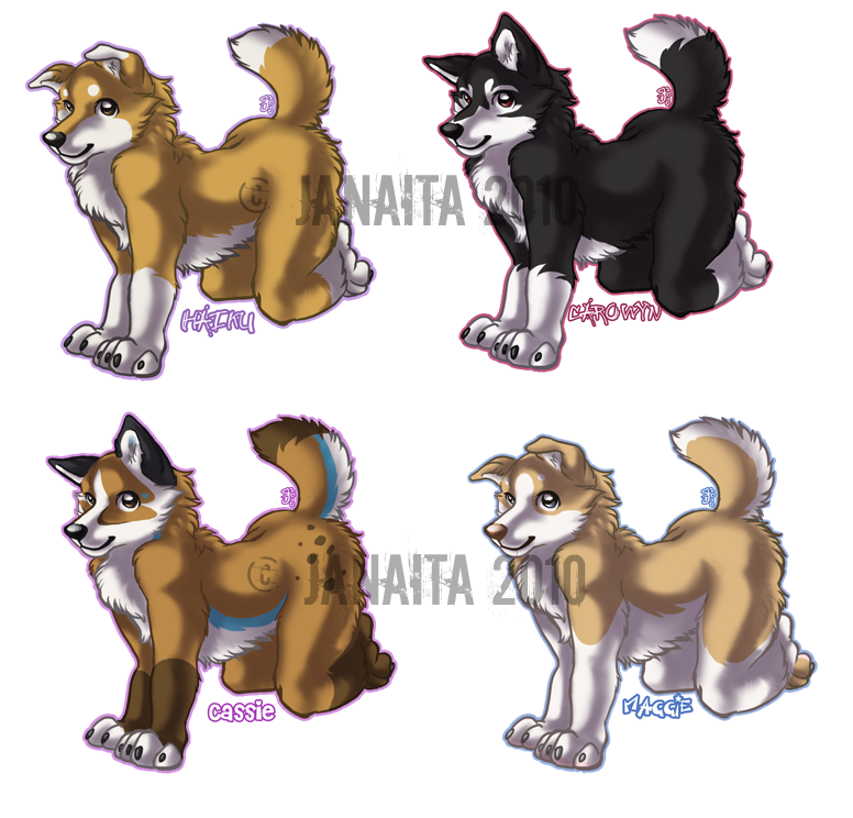 Chibis - $10 OPEN by Janaita