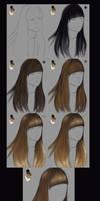 very simple hair tutorial by vanellia