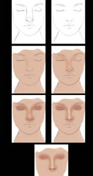 very simple nose tutorial by vanellia