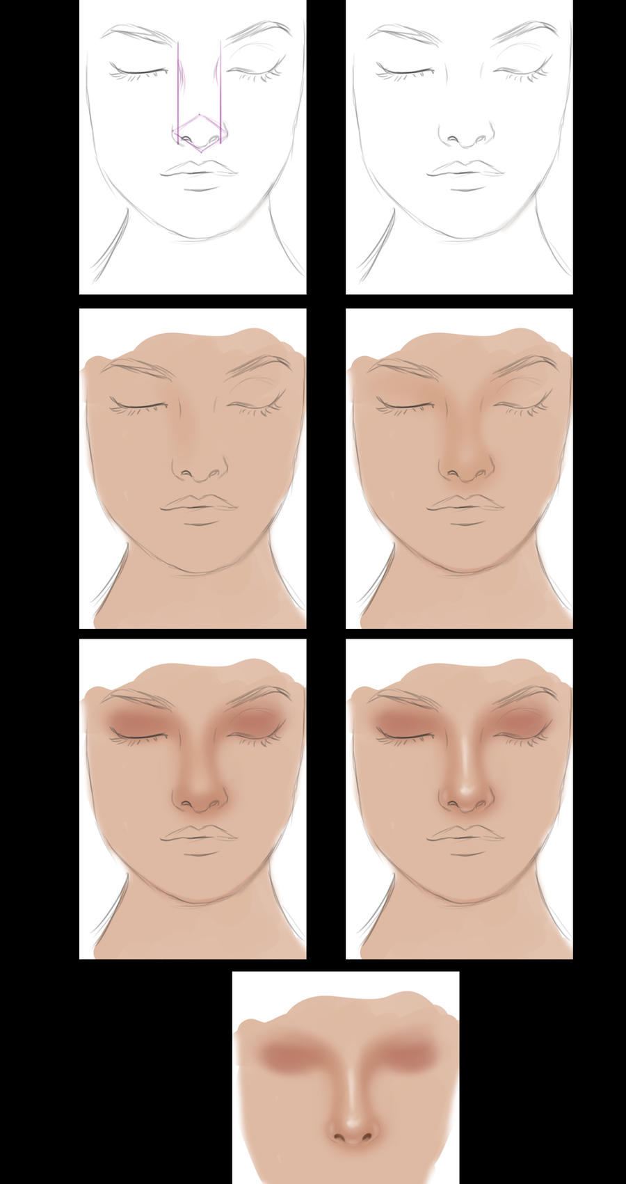 Very simple nose tutorial by vanellia on deviantart very simple nose tutorial by vanellia very simple nose tutorial by vanellia baditri Images