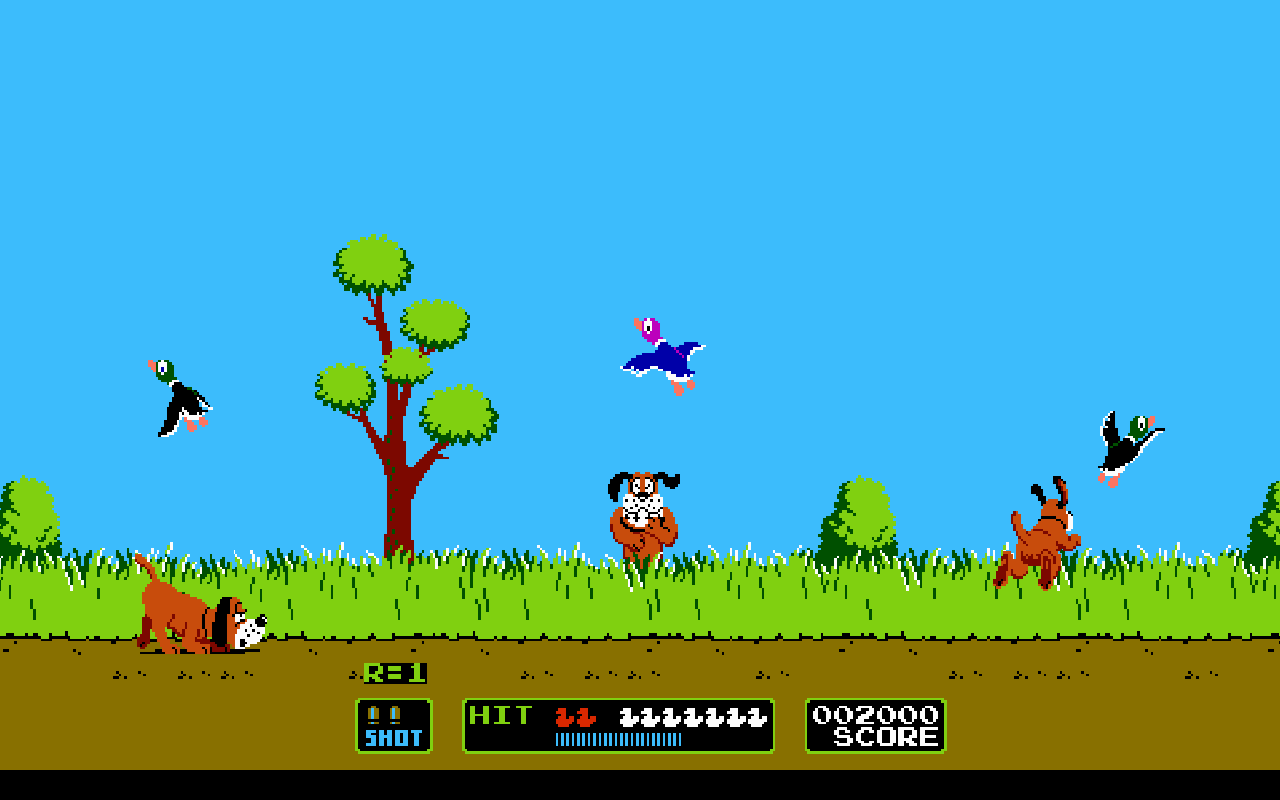 Duck Hunt Wallpaper by lucasta-2007