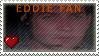 Eddie fan stamp by AlphaWolfAniu