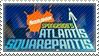 Spongebob Alantis Squarepantis stamp by AlphaWolfAniu
