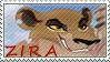 Lion Guard Zira stamp by AlphaWolfAniu