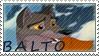Balto stamp by AlphaWolfAniu