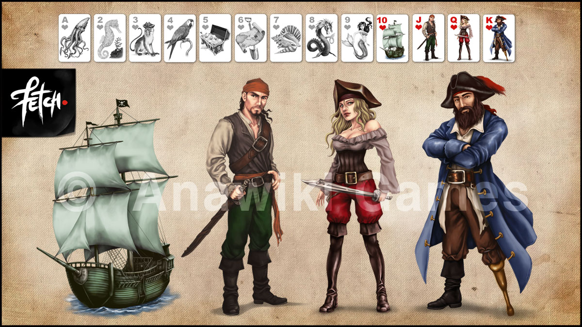 Pirate card game 04 by FranciscoETCHART