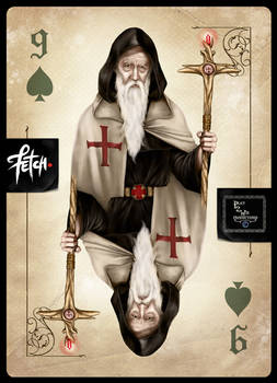 ToT Card Game OLD MAGICIAN