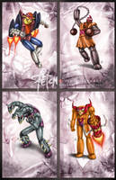 Mazinger Z_cards SERIES C by FranciscoETCHART