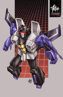 11/34 Skywarp by FranciscoETCHART
