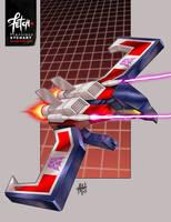 14/34 Laserbeak by FranciscoETCHART
