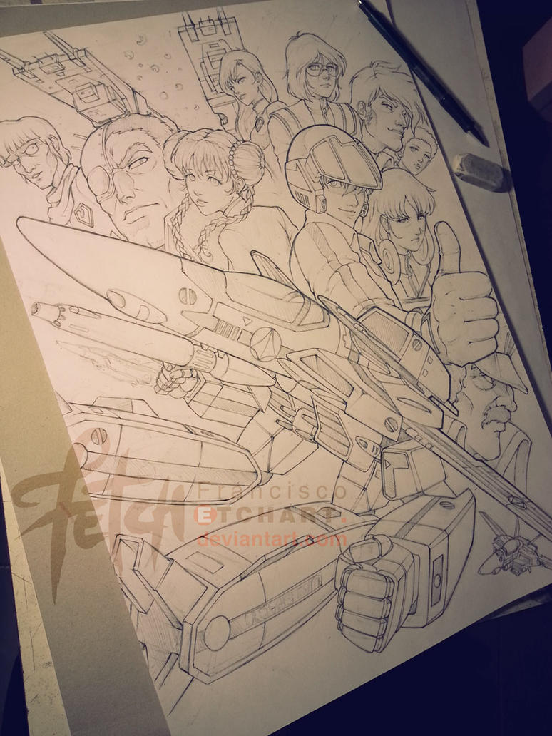 MACROSS sketch by FranciscoETCHART