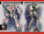 1/12 ROBOTECH set cards