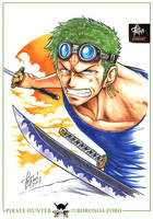 ZORO Skypiea by FranciscoETCHART
