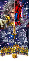 SANCTUARY Saint Seiya by FranciscoETCHART