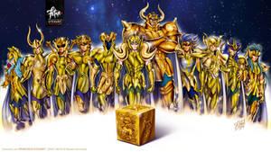 GOLDIES WALLPAPER Saint Seiya