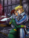 Robotech_Roy and Claudia by FranciscoETCHART