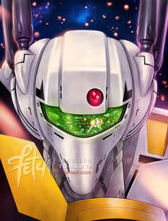 Robotech_Skull by FranciscoETCHART
